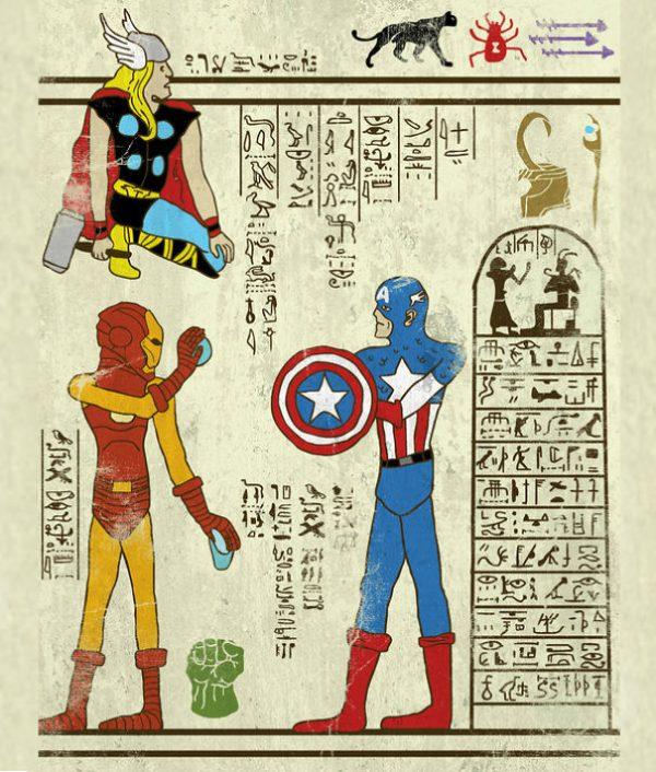 Super Heros Culture Pop Hieroglyphe Josh Lane (5)