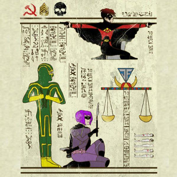 Super Heros Culture Pop Hieroglyphe Josh Lane (8)