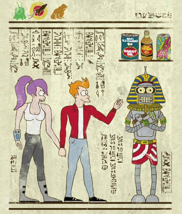 Super Heros Culture Pop Hieroglyphe Josh Lane (9)