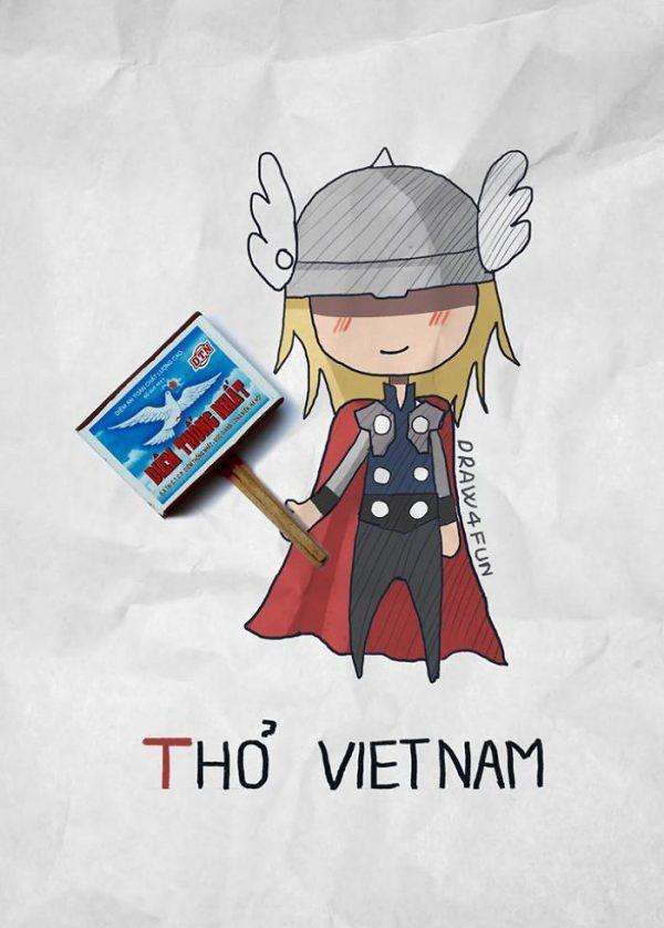 Super Heros Marvel Objets Vie Nguyen Quang Huy (11)