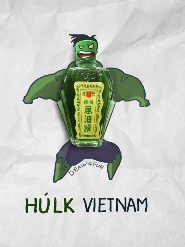Super Heros Marvel Objets Vie Nguyen Quang Huy (12)