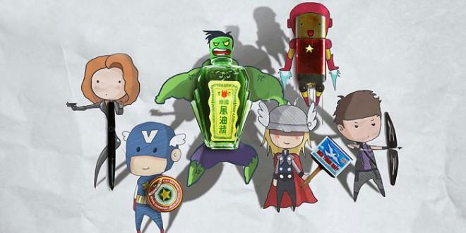 Super Heros Marvel Objets Vie Nguyen Quang Huy (13)