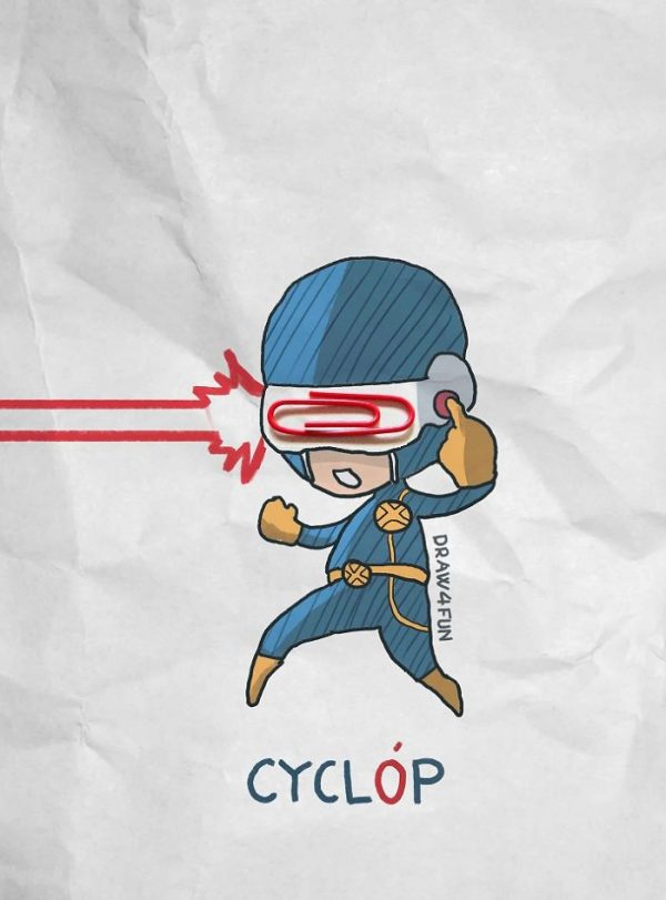 Super Heros Marvel Objets Vie Nguyen Quang Huy (2)