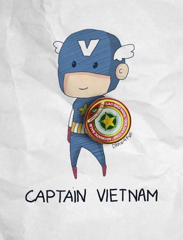Super Heros Marvel Objets Vie Nguyen Quang Huy (9)