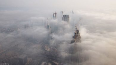 Photo of Dubaï  vu en time lapse par Matthew Vandeputte
