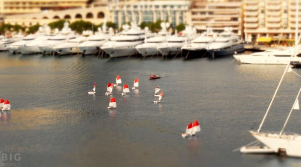 Time Lapse Tilt Shift Monaco