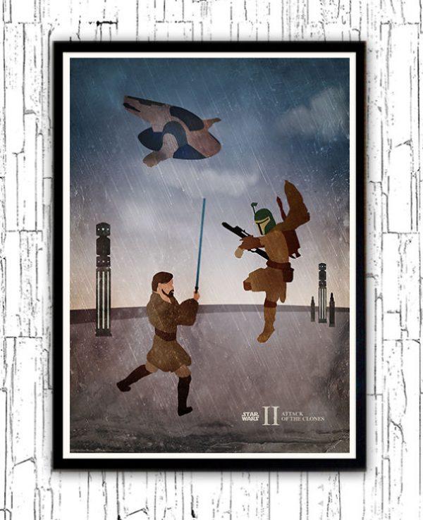 Affiches Miniamlistes Star Wars Alp Celik (2)