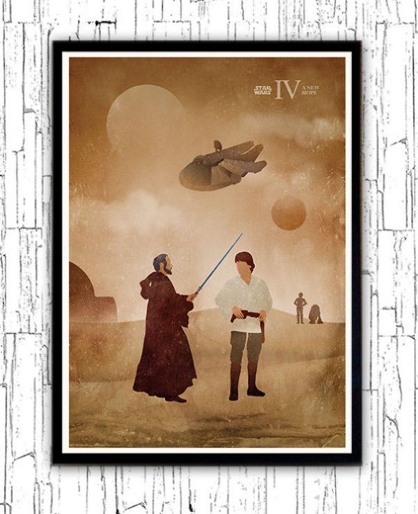 Affiches Miniamlistes Star Wars Alp Celik (4)