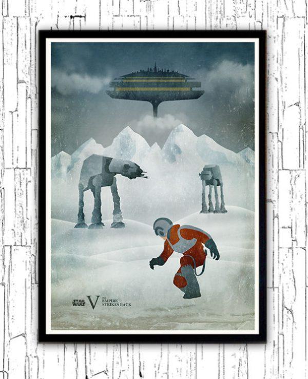 Affiches Miniamlistes Star Wars Alp Celik (5)