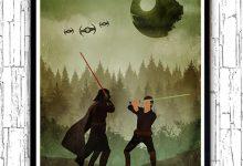 Photo of Affiches minimalistes du monde de Star Wars par Alp Celik