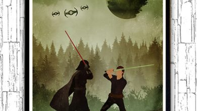 Photo of Affiches minimalistes du monde de Star Wars par Alp Celik