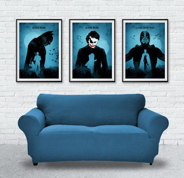 Affiches Minimalistes Films Mert Baris Batman Trilogy (1)