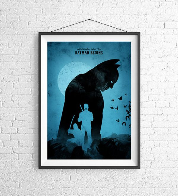 Affiches Minimalistes Films Mert Baris Batman Trilogy (2)