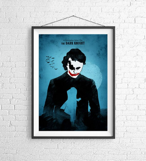 Affiches Minimalistes Films Mert Baris Batman Trilogy (3)