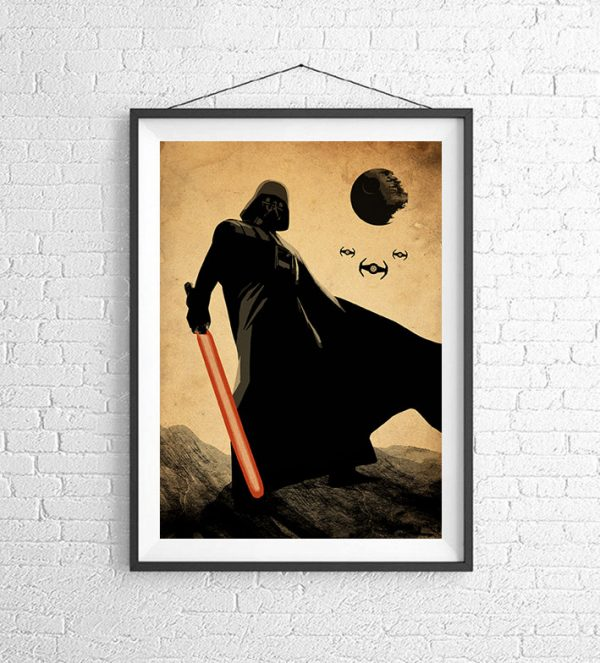 Affiches Minimalistes Films Mert Baris Star Wars (4)