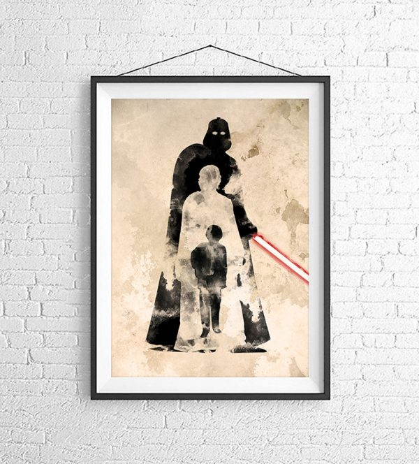Affiches Minimalistes Films Mert Baris Star Wars (5)
