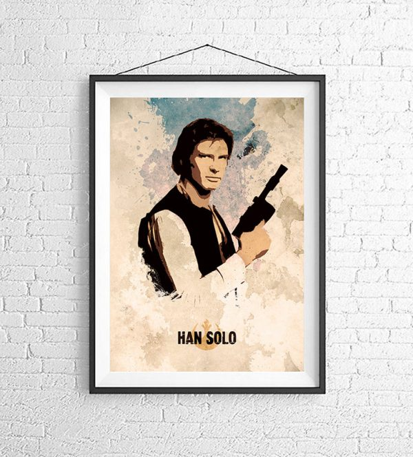 Affiches Minimalistes Films Mert Baris Star Wars (6)