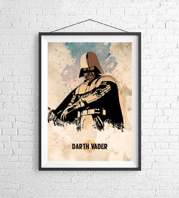 Affiches Minimalistes Films Mert Baris Star Wars (7)