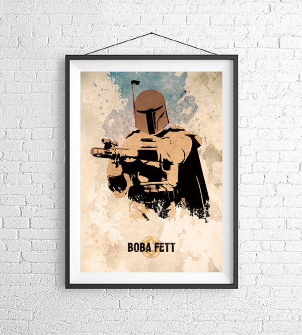 Affiches Minimalistes Films Mert Baris Star Wars (8)
