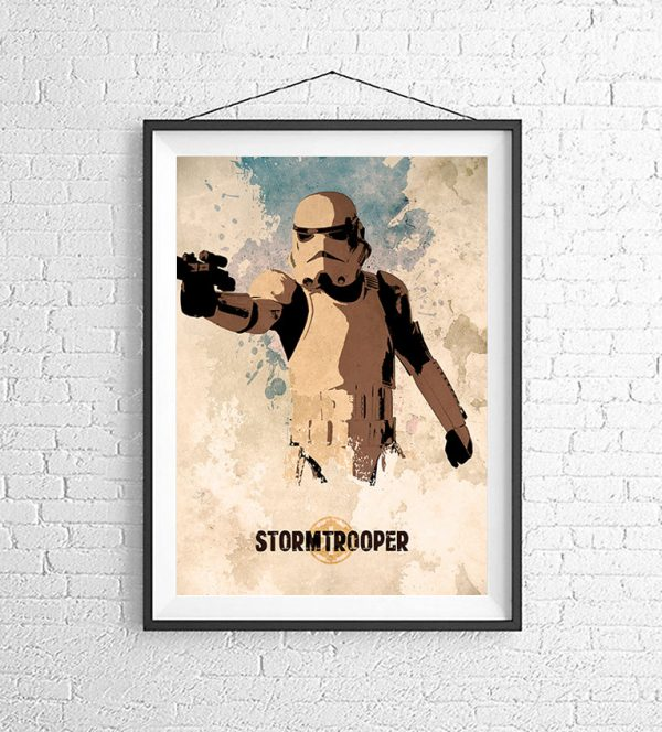 Affiches Minimalistes Films Mert Baris Star Wars (9)