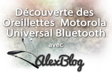 Photo of Découverte des Oreillettes Motorola Universal Sans Fil Bluetooth Stereo