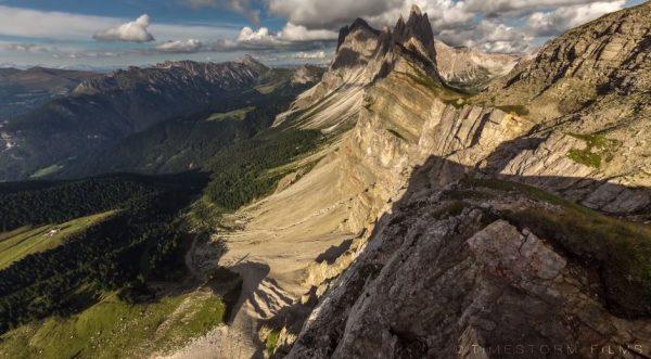 Time Lapse Massifs Montagneux Italie