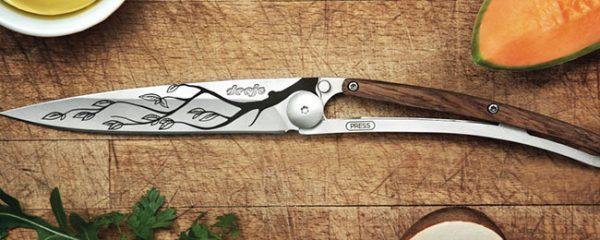 Decouverte Deejo Couteau Personnalisable