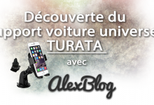 Decouverte Support Voiture Universel Turata
