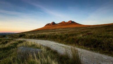 Photo of Les montagnes de l'Irlande du Nord en time lapse