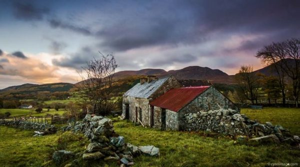 Montagnes Irlande Nord Time Lapse