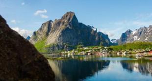 Les Îles Lofoten à l'été – time lapse
