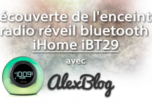 Photo of Découverte de l'enceinte radio réveil bluetooth iHome iBT29