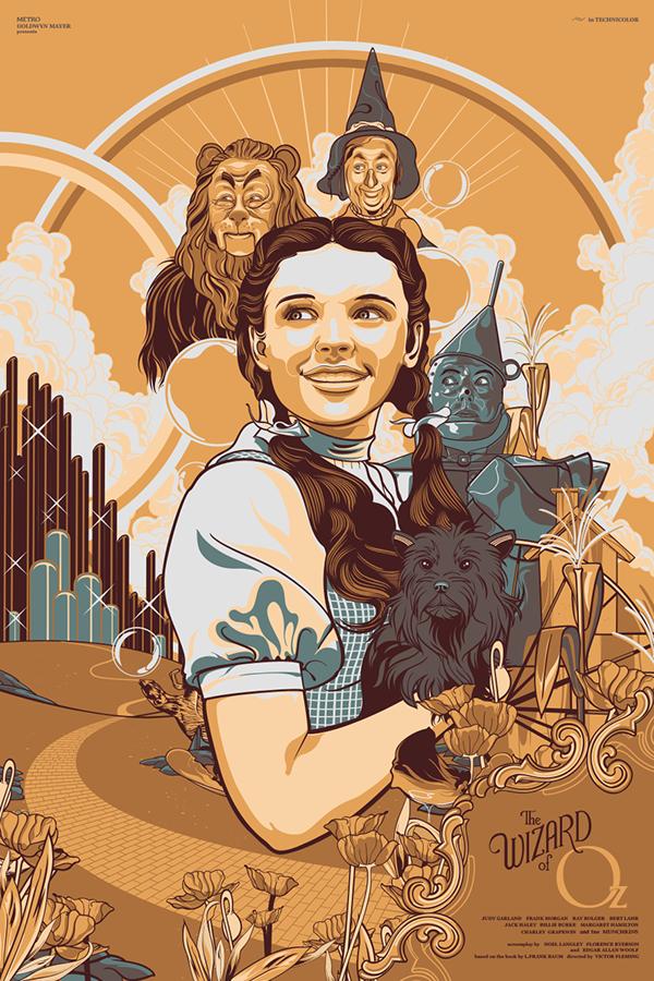 Illustrations Affiches Films Series Vincent Rhafael (4)