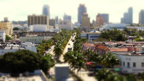 Miami Tiltshift Time Lapse