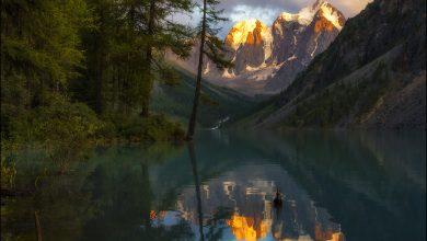 Photo of Photographie du jour #562 : Soirée sur le lac Shavlinsky
