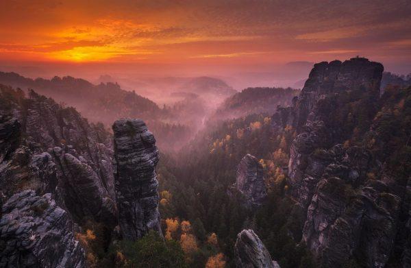 Photographie Mistic Land Saxe