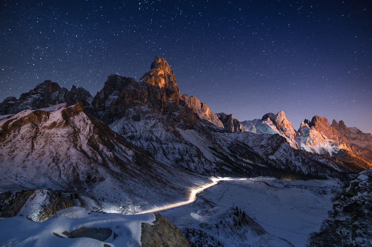Photographie Rolle Pass Dolomites