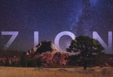 Photo of A la découverte du Parc national de Zion en time lapse – 8K