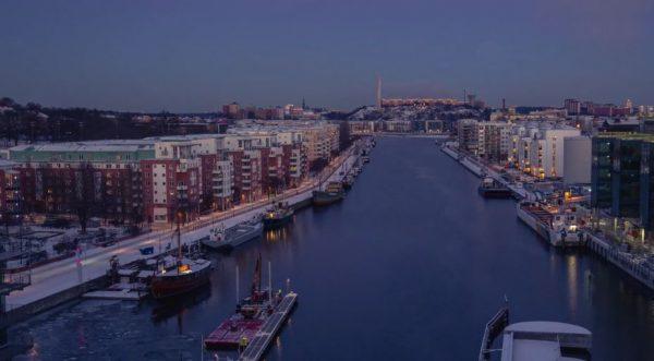 Time Lapse Stockholm Hiver