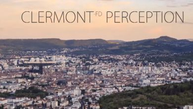 Photo of La ville de Clermont-Ferrand en time lapse / hyperlapse