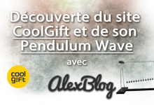 Photo of Découverte du site CoolGift et de son Pendulum Wave