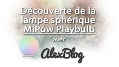 Photo of Découverte de la lampe sphérique MiPow Playbulb