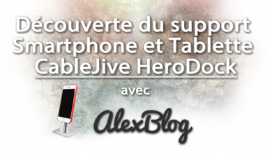 Decouverte Support Smartphone Tablette Cablejive Herodock