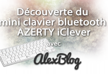 Photo of Découverte du mini clavier bluetooth AZERTY iClever