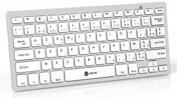 Decouverte Mini Clavier Bluetooth Azerty Iclever (8)
