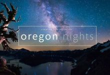 Oregon Nights Time Lapse 4k