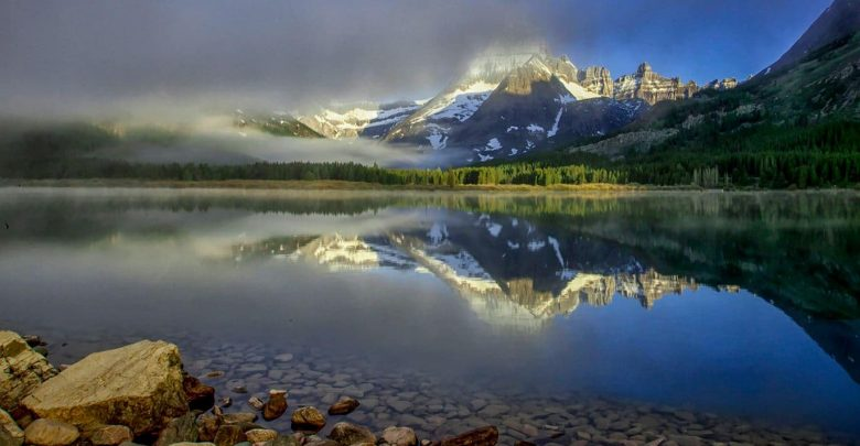 Photo of Photographie du jour #588 : Lac Swiftcurrent