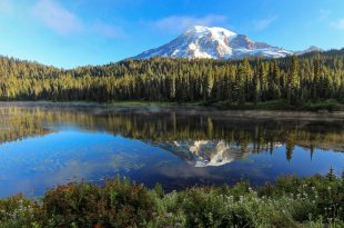 Photographie Rainier Reflected