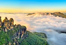 Photo of Photographie du jour #592 : Sea of clouds – Three Sisters