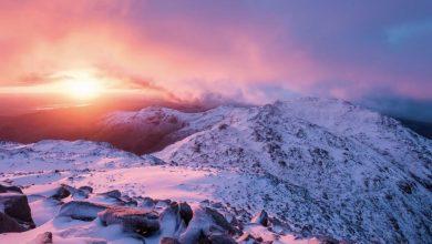 Photo of Time lapse sur le Lake District à l'hiver